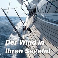 Den Wind in den Segeln
